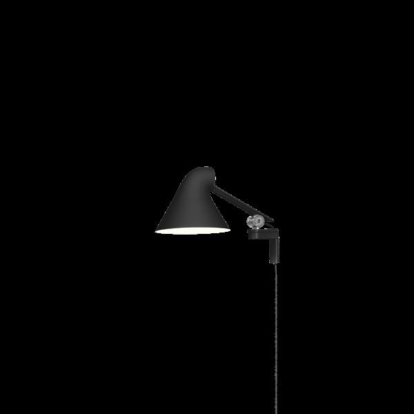 NJP væglampe sort