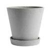 Hay flowerpot XXL grey