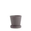 Hay flowerpot s plum