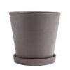 Hay flowerpot XL plum