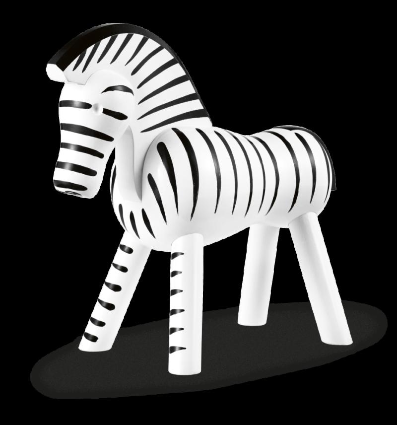 kay bojesen zebra sort/hvid
