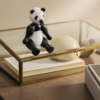 kay bojesen panda lille sort/hvid wwf