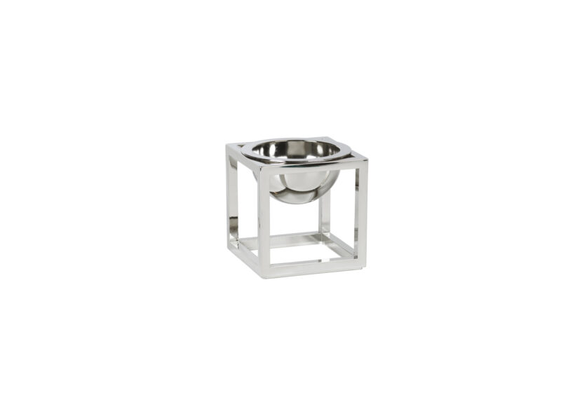 by lassen kubus bowl mini nikkel