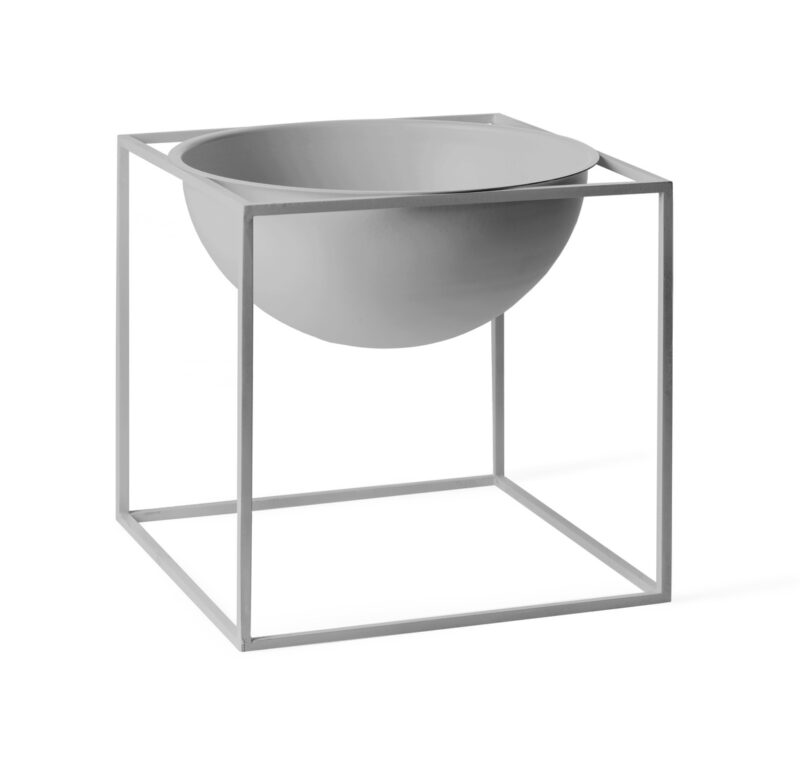 by lassen kubus bowl stor cool grey grå