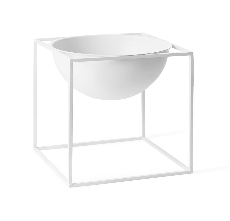 by lassen kubus bowl stor hvid
