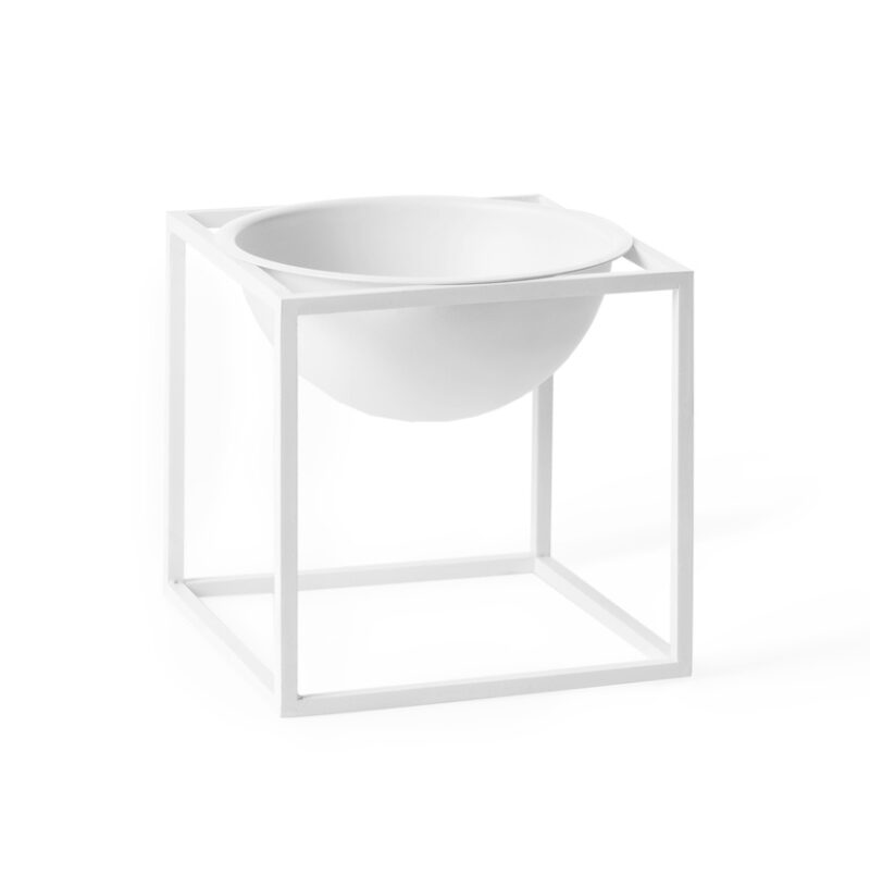 by lassen, Kubus bowl lille hvid 20101