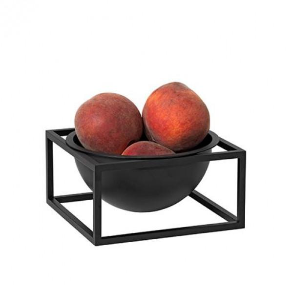 by lassen kubus bowl centerpiece lille sort