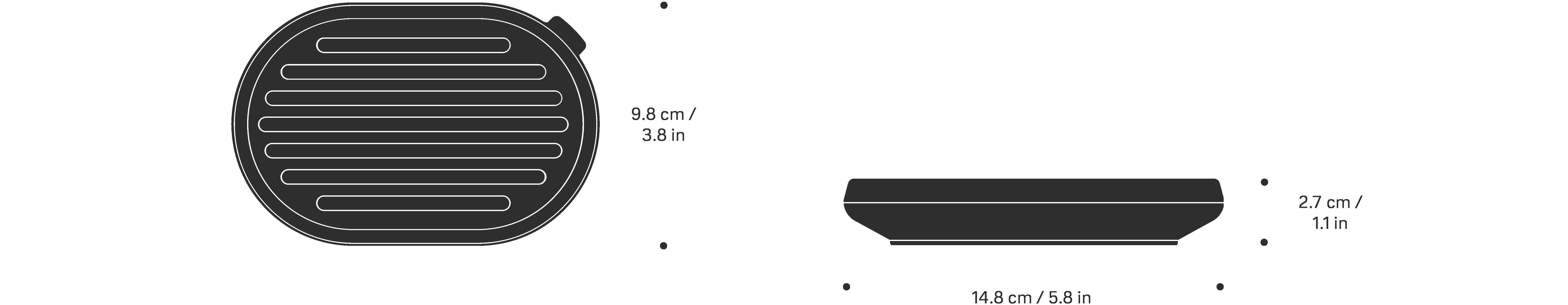 vipp5 størrelse